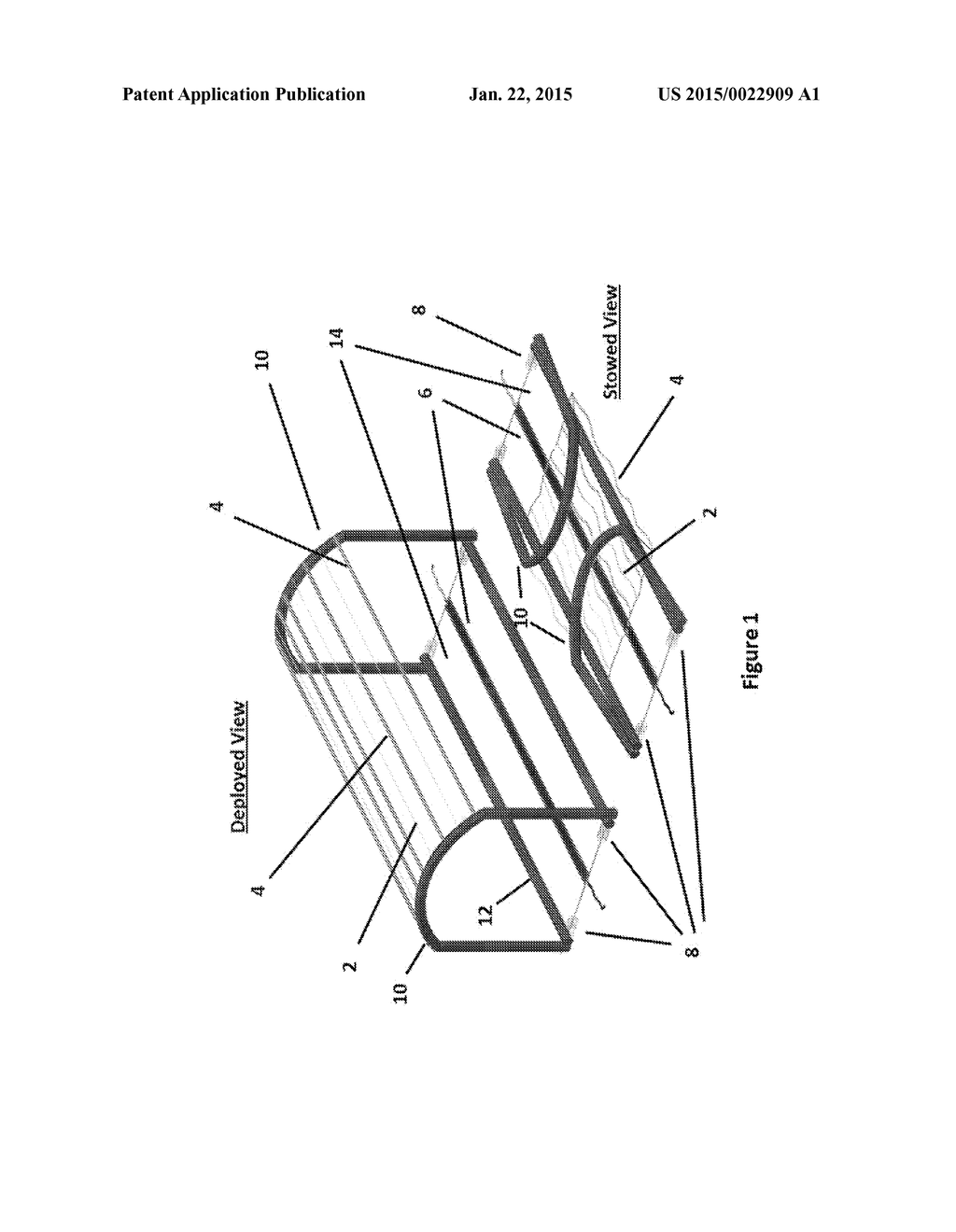 Stretched fresnel lens solar concentrator for space power with stretched fresnel lens solar concentrator for space power with cords fibers or wires strengthening the stretched lens diagram schematic and image 02 pooptronica Gallery