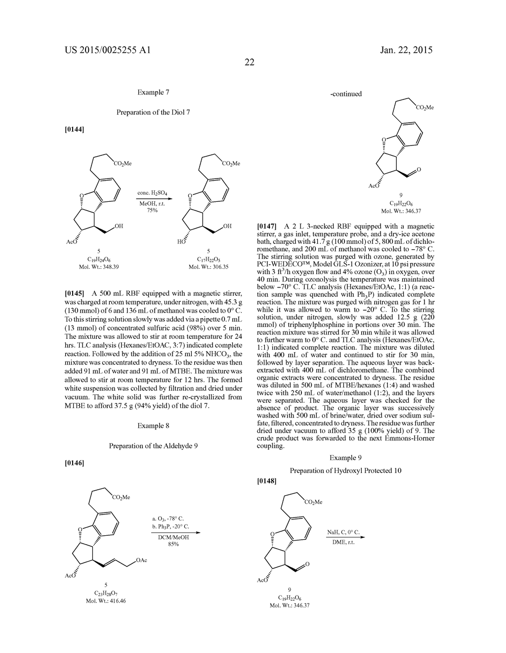 PROCESS FOR PREPARING SYNTHETIC PROSTACYCLINS - diagram, schematic, and image 23