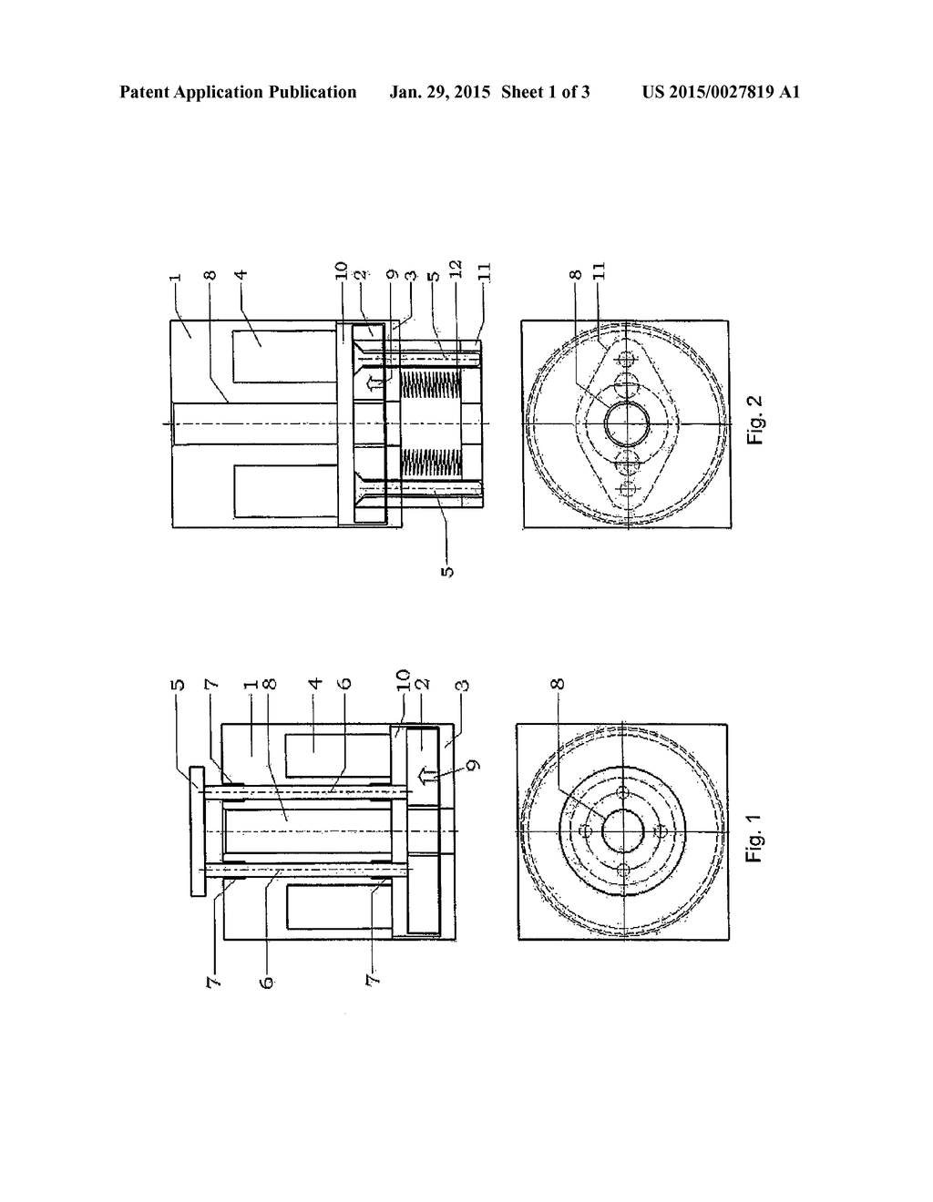 SOLENOID ACTUATOR, USE OF A SOLENOID ACTUATOR AND BRAKING OR CLAMPING     DEVICE FOR LINEARLY MOVING AND/OR AXIALLY ROTATING COMPONENTS - diagram, schematic, and image 02