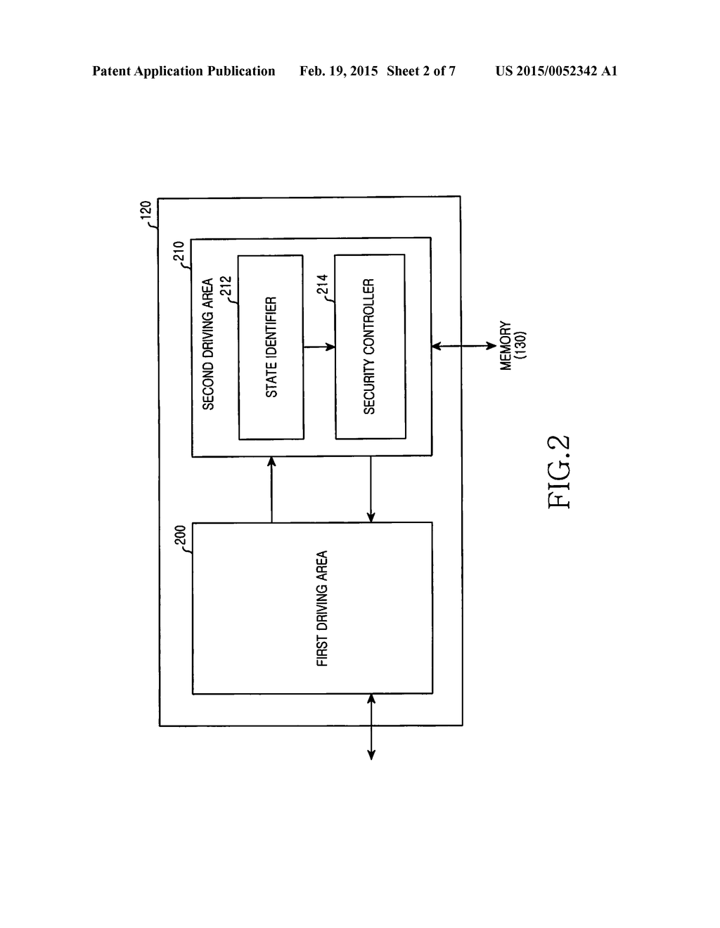 METHOD OF IDENTIFYING SECURITY AND ELECTRONIC DEVICE THEREOF - diagram, schematic, and image 03