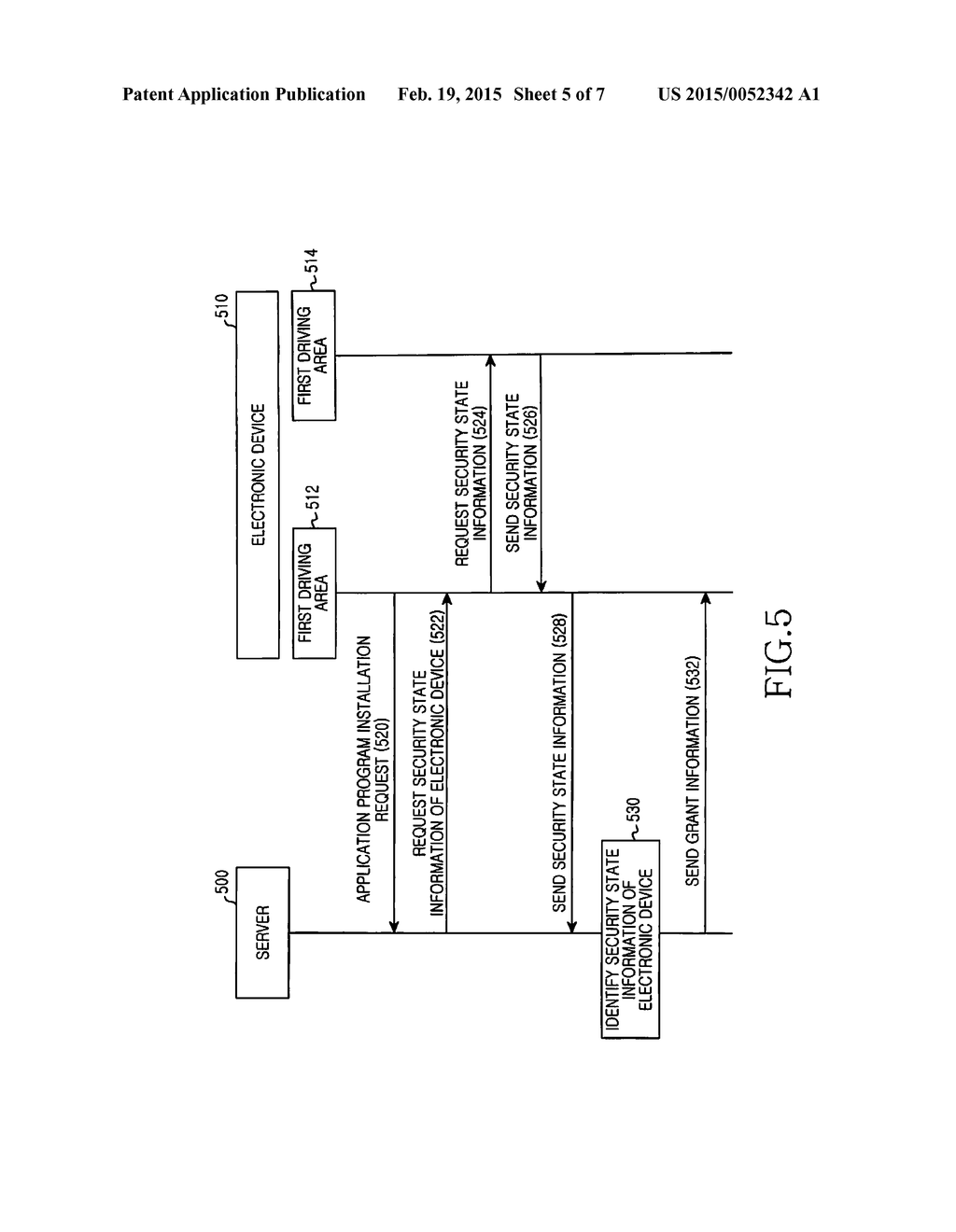 METHOD OF IDENTIFYING SECURITY AND ELECTRONIC DEVICE THEREOF - diagram, schematic, and image 06