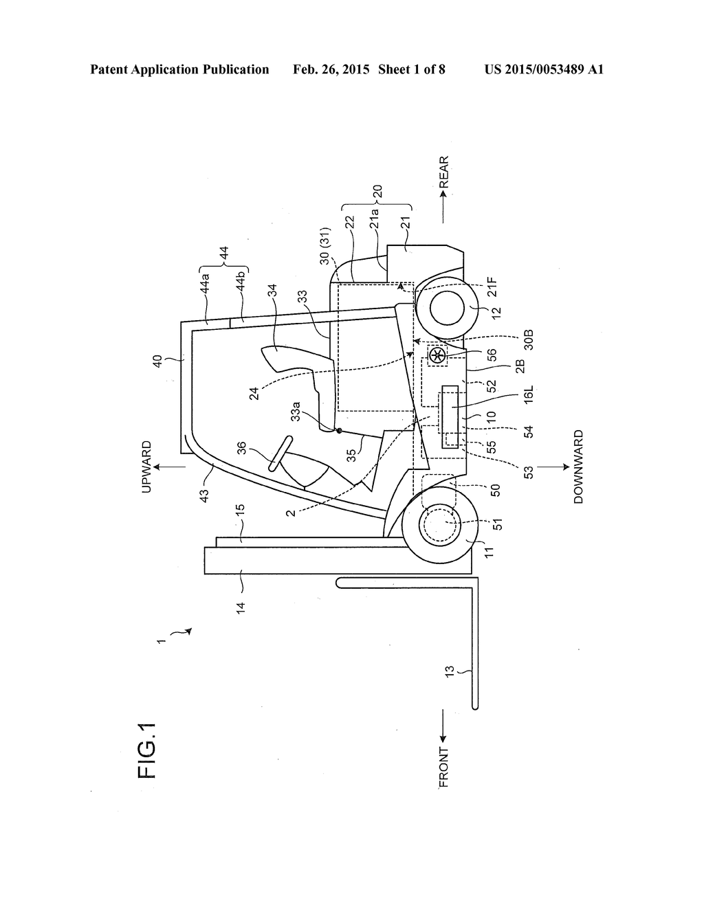 Battery Powered Work Machine And Forklift Diagram Schematic Image 02