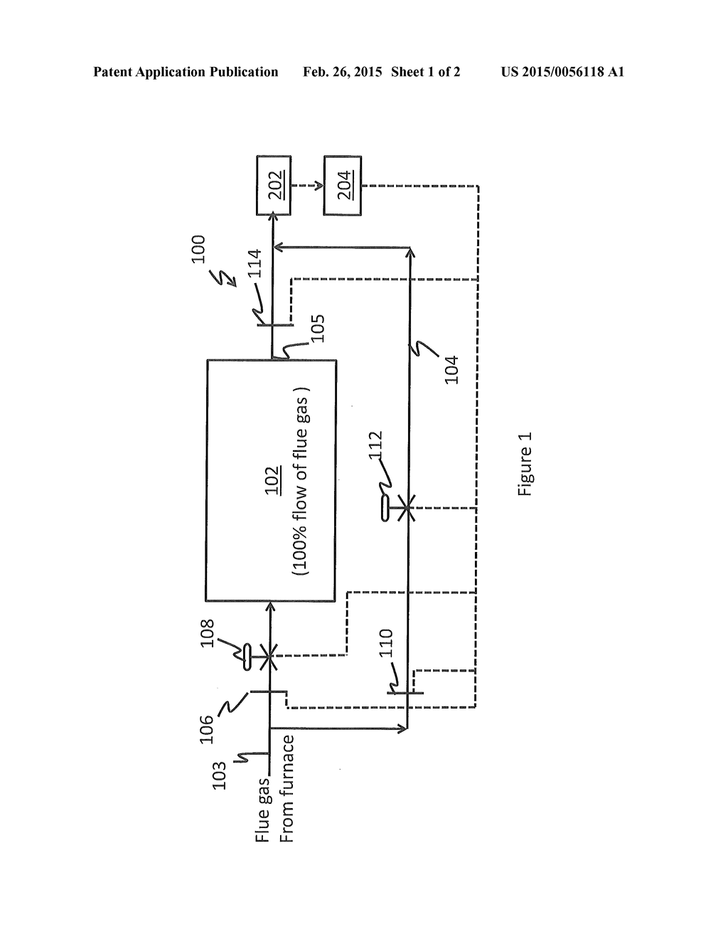 Flue Gas Stream Bypass During Selective Catalytic Reduction In A Power Plant Schematic Diagram And Image 02