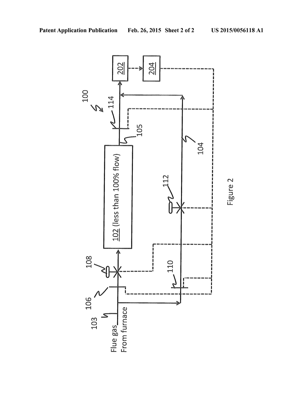 Flue Gas Stream Bypass During Selective Catalytic Reduction In A Power Plant Schematic Diagram And Image 03