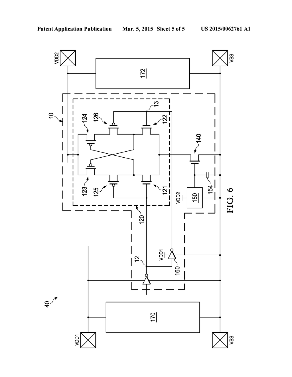 Electrostatic Discharge Protection For Level Shifter Circuit
