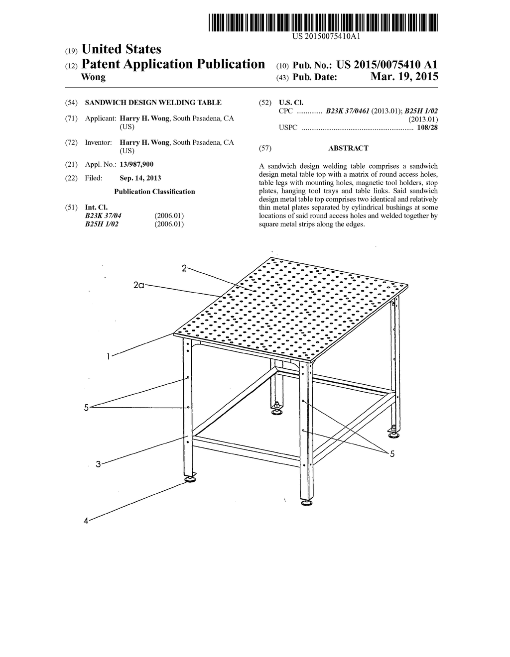 Sandwich Design Welding Table Diagram, Schematic, And Image 01 Basic Welding  Diagram Welding Chart Diagram
