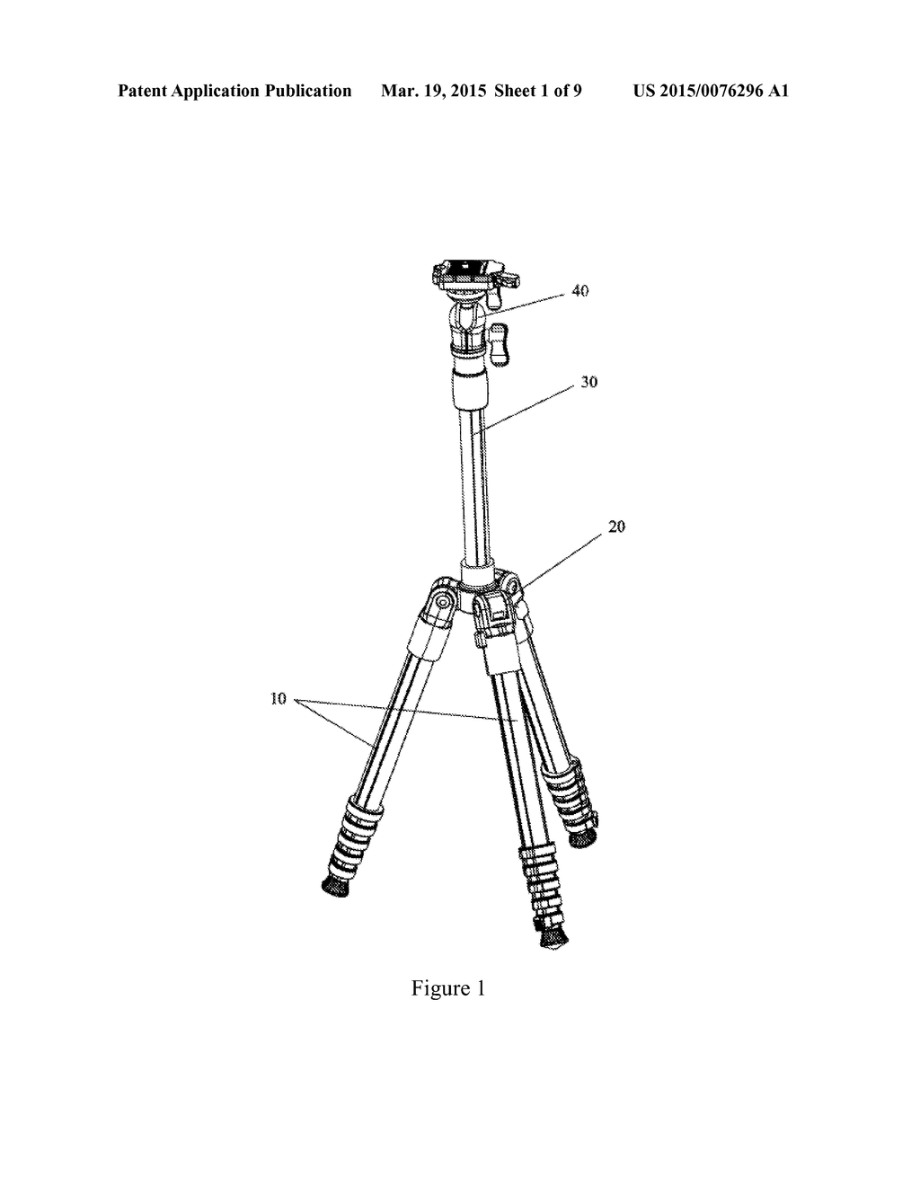 inversely foldable camera tripod being rapidly assembled diagram rh patentsencyclopedia com surveying tripod diagram camera tripod diagram