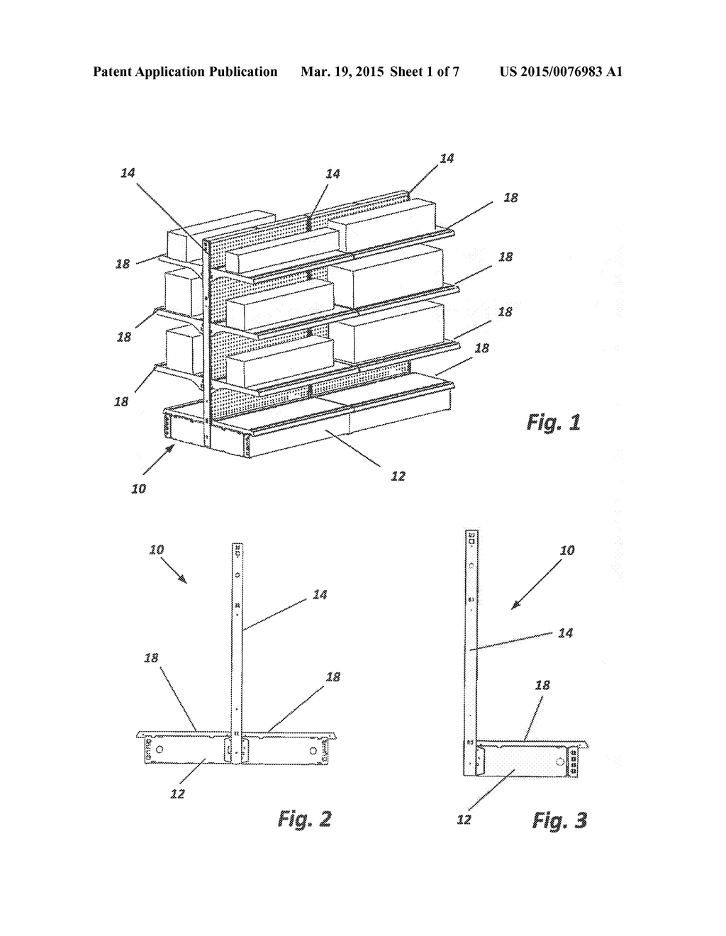 Sliding Drawer Assembly For Use With Gondola Shelving Systems