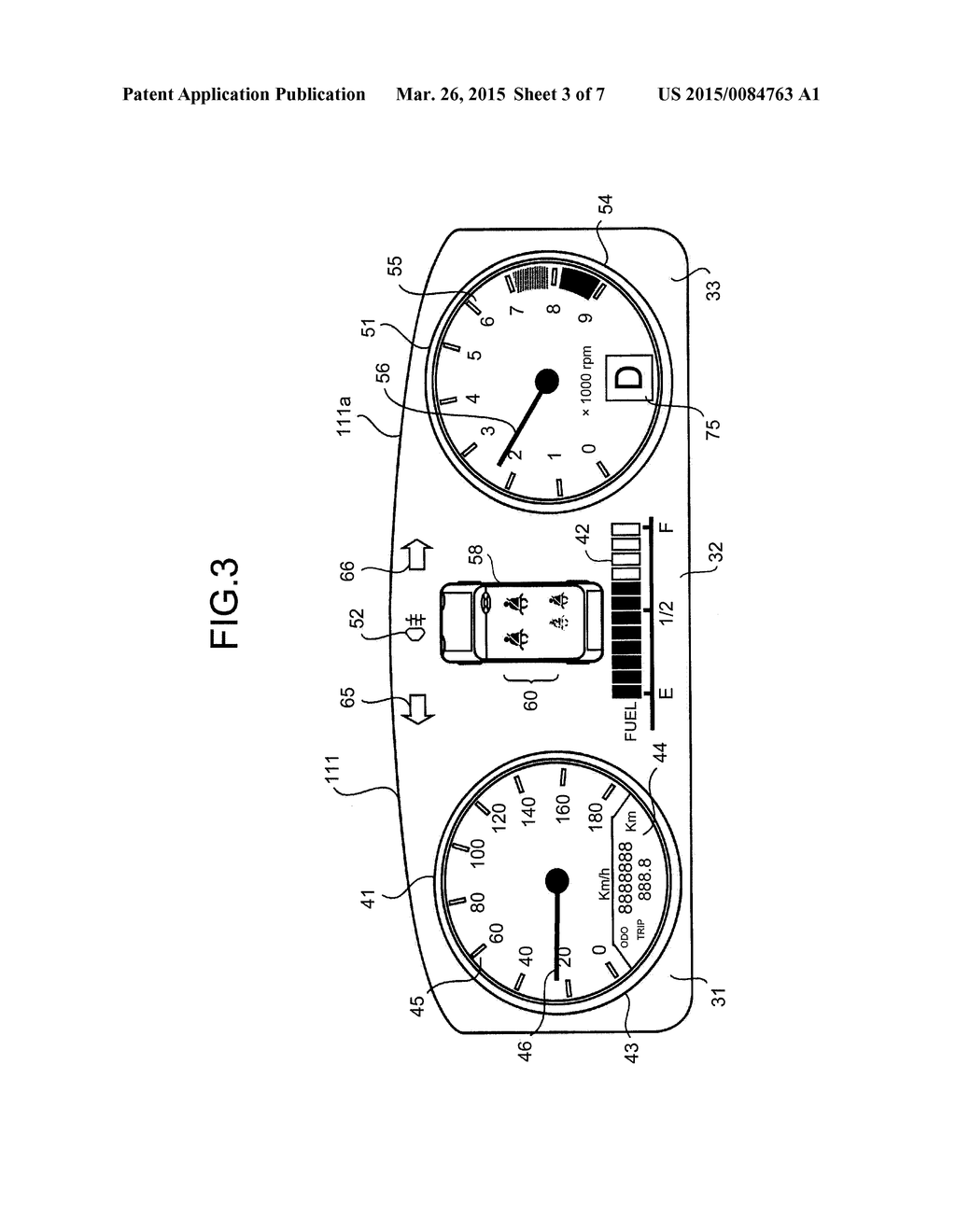 SEATBELT FASTENING STATE DISPLAY DEVICE - diagram, schematic, and image 04