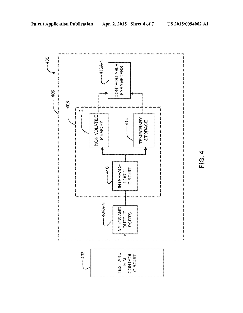 System For Constraining An Operating Parameter Of An EHF Communication     Chip - diagram, schematic, and image 05