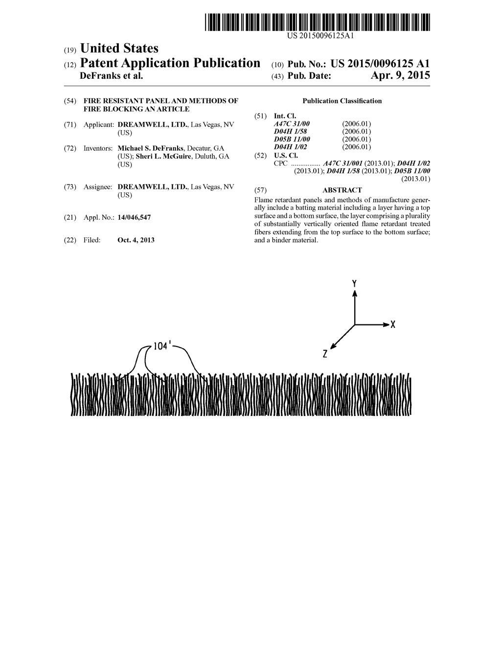 Fire Resistant Panel And Methods Of Fire Blocking An Article