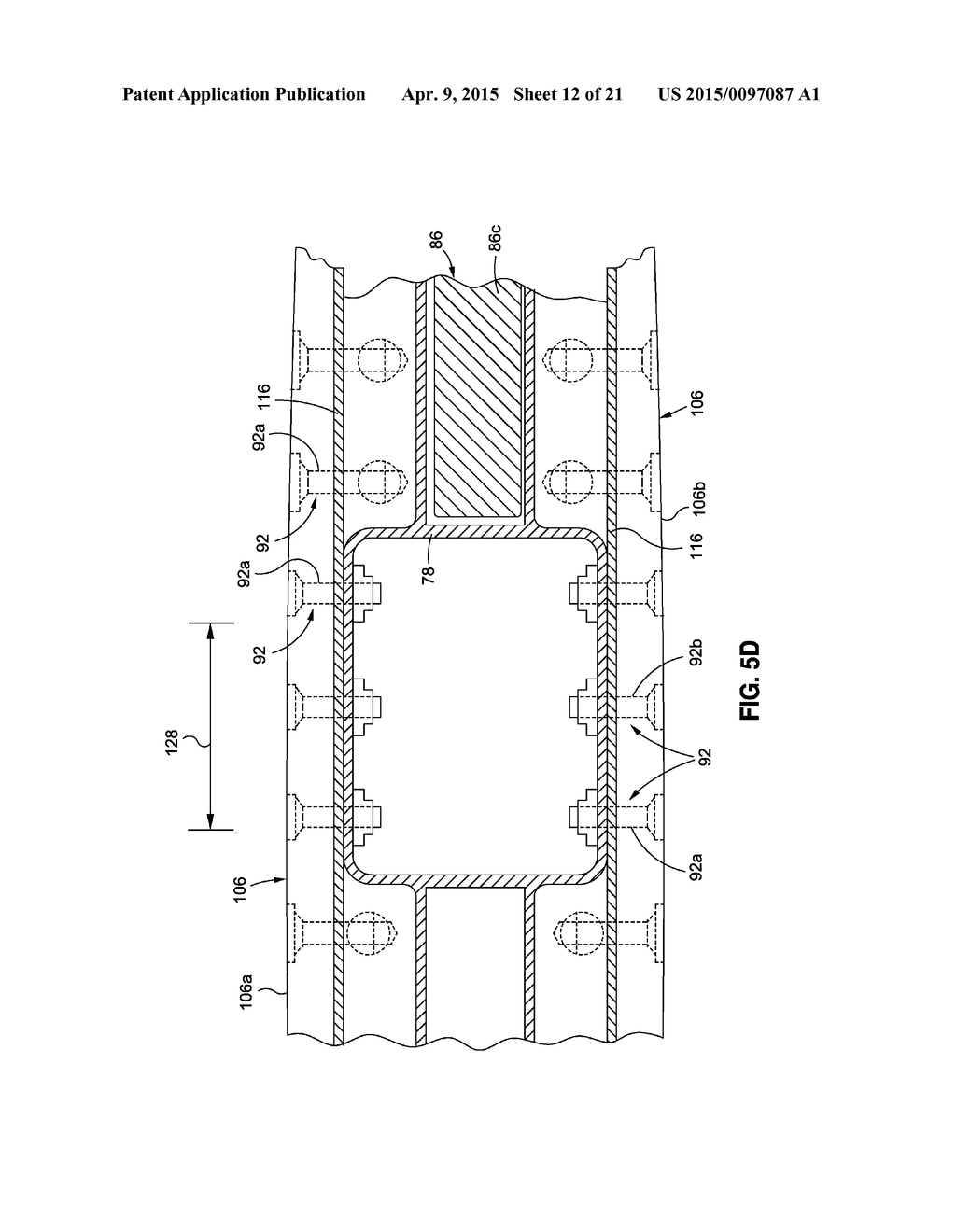 Swing Wing Tip System Assembly And Method With Dual Load Path Of Structure Diagram Schematic Image 13