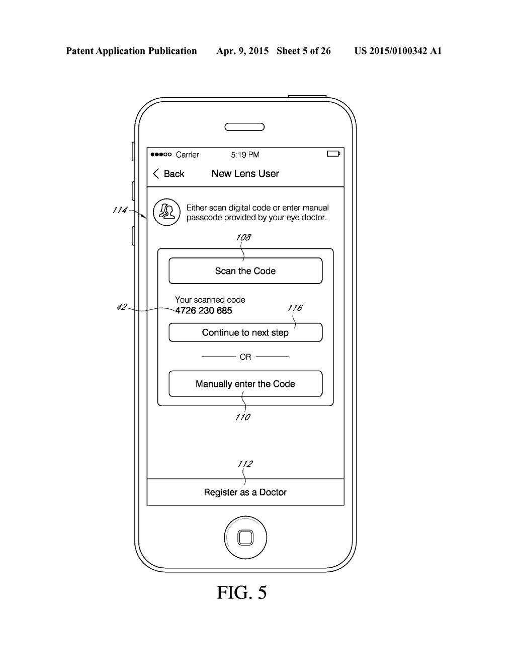 MOBILE APP FOR CONTACT LENSES - diagram, schematic, and image 06