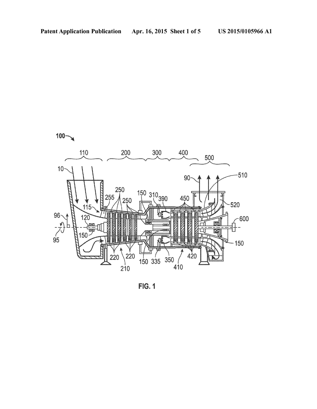 CONDITION BASED LIFING OF GAS TURBINE ENGINE COMPONENTS - diagram ...