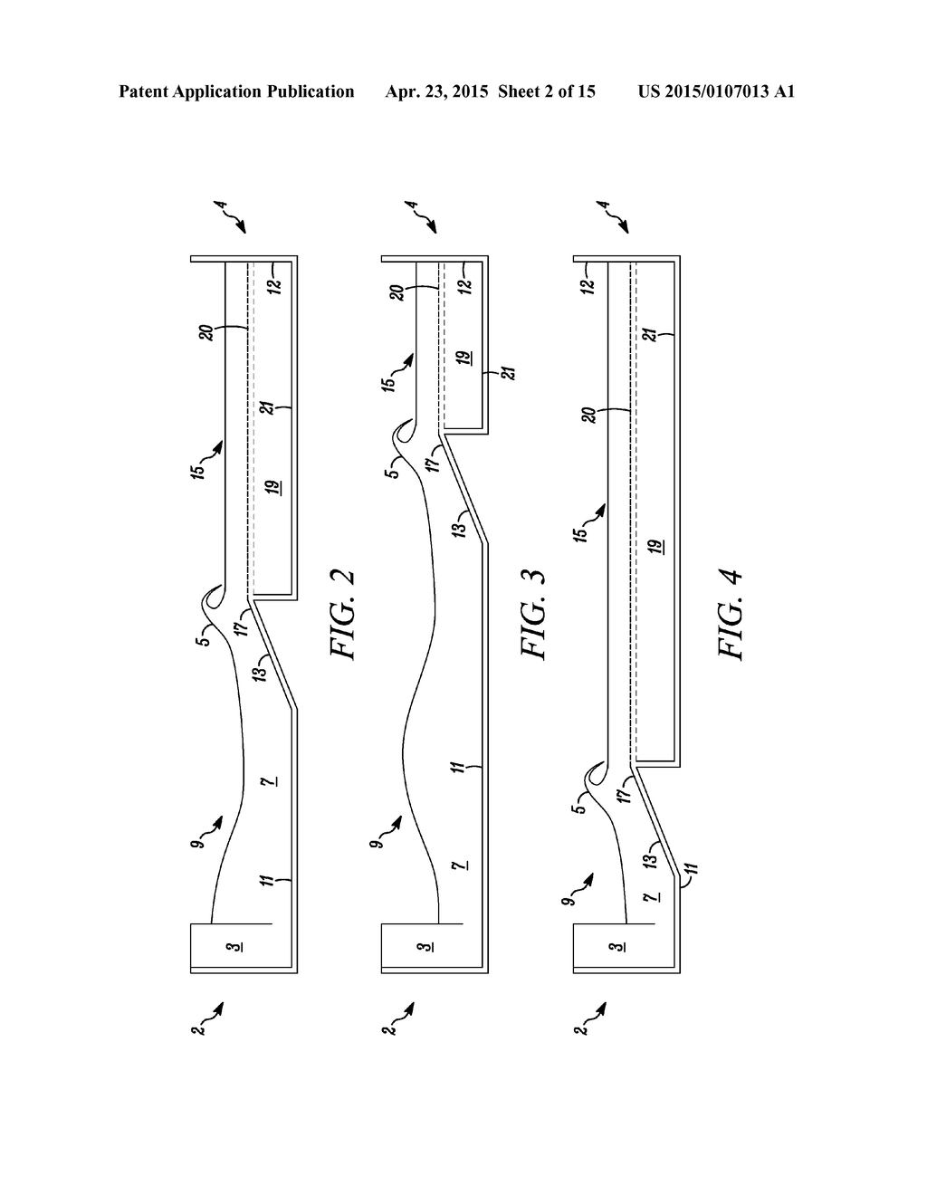 Method And Apparatus For Dampening Waves In A Wave Pool Diagram Schematic Image 03