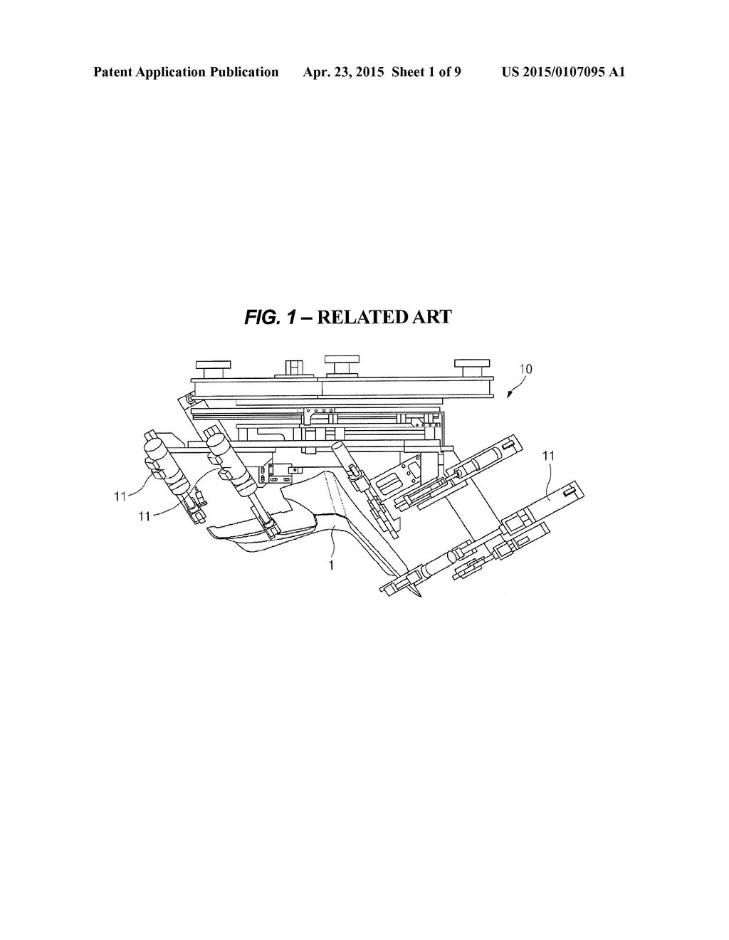 MULTI-PARTS AUTOTRANSFERRING APPARATUS FOR VEHICLE - diagram, schematic, and image 02