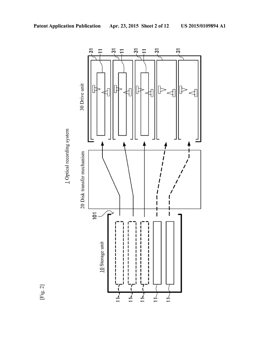 OPTICAL RECORDING DEVICE AND OPTICAL RECORDING METHOD - diagram, schematic, and image 03