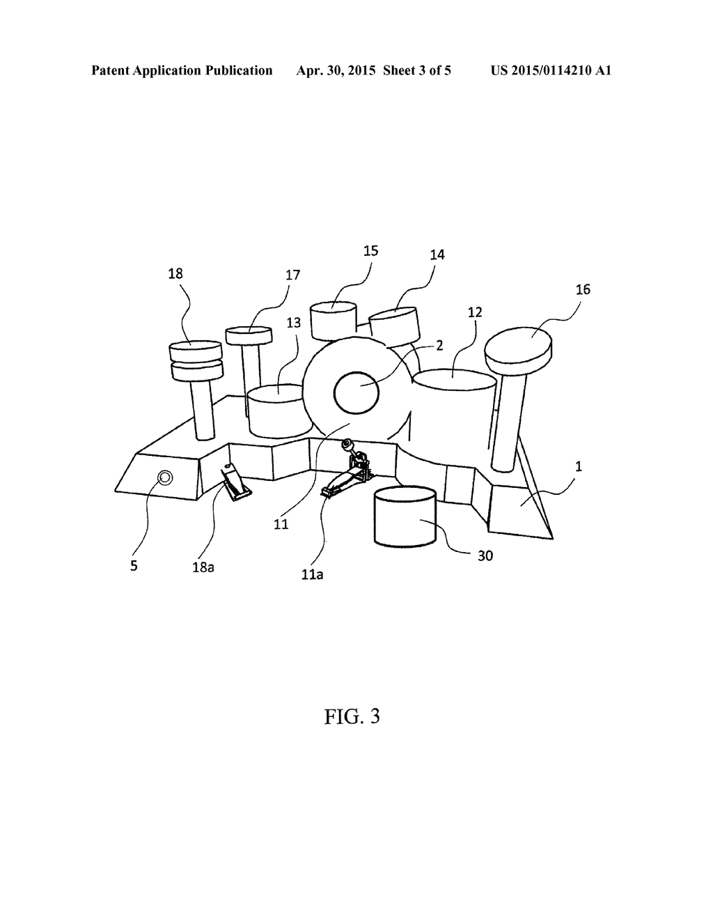 Inflatable Electronic Drum Set Diagram Schematic And Image 04
