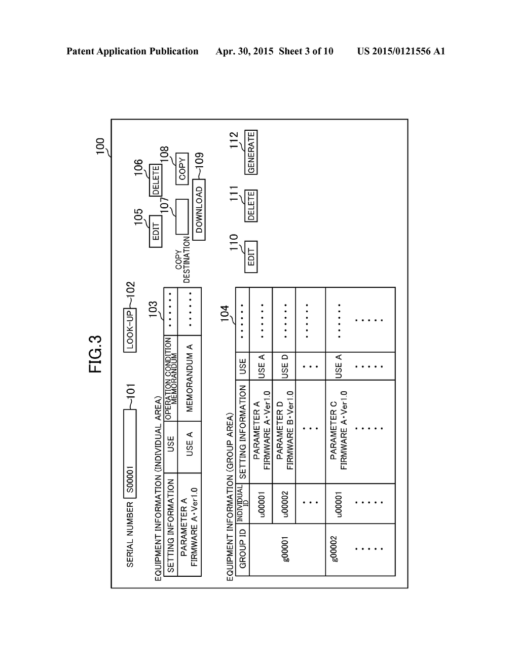 INDUSTRIAL EQUIPMENT MANAGEMENT SYSTEM, INDUSTRIAL EQUIPMENT MANAGEMENT     SERVER, INDUSTRIAL EQUIPMENT MANAGEMENT METHOD, AND INFORMATION STORAGE     MEDIUM - diagram, schematic, and image 04