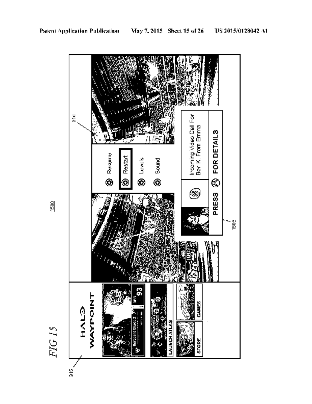 MULTITASKING EXPERIENCES WITH INTERACTIVE PICTURE-IN-PICTURE - diagram, schematic, and image 16