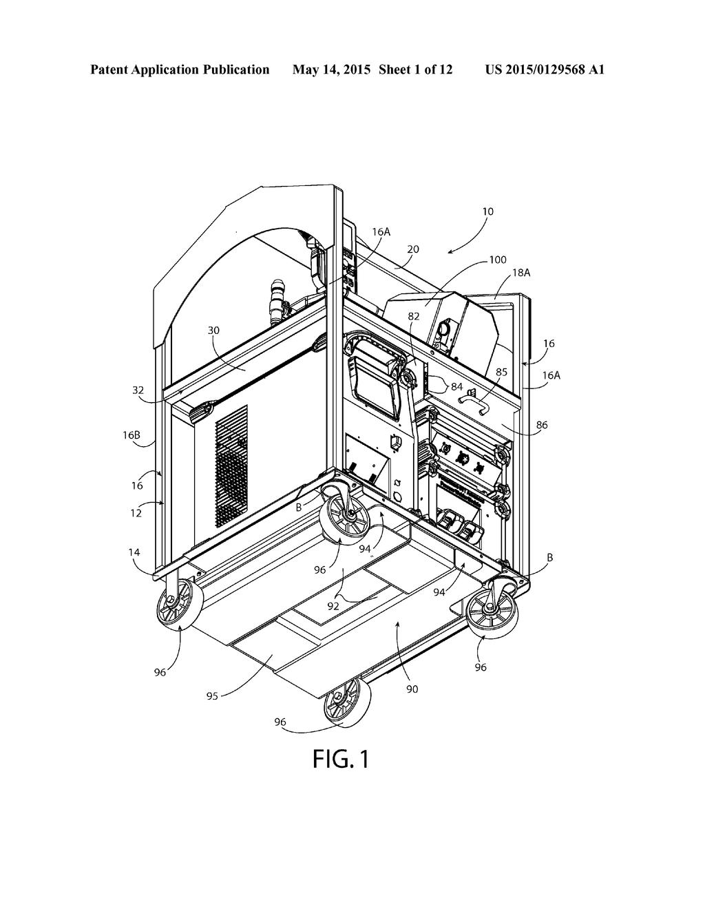 welding cart diagram, schematic, and image 02 Welding Table