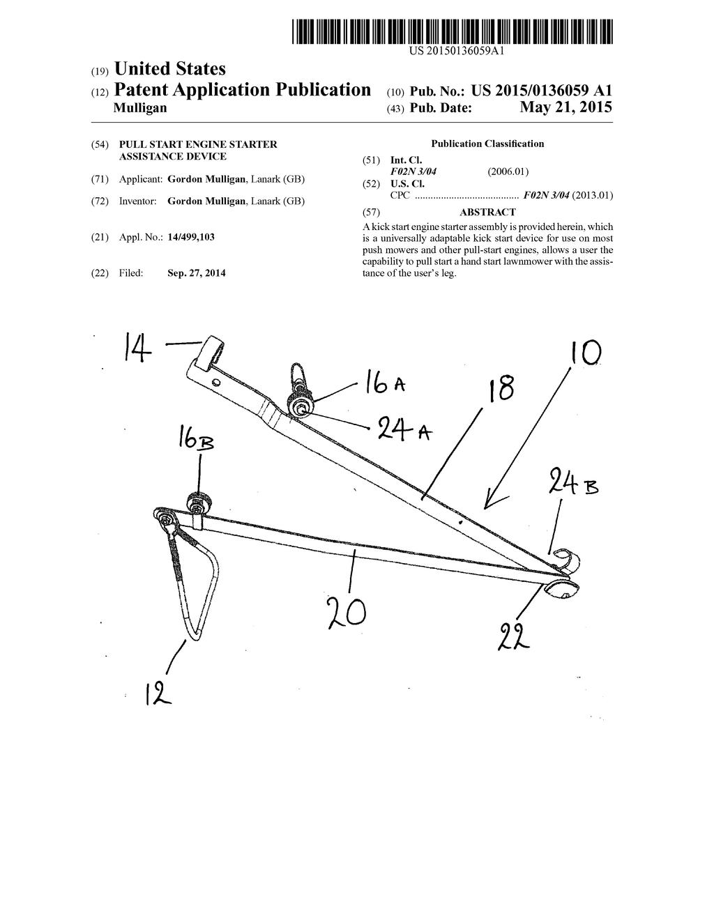 Pull Start Engine Diagram Reveolution Of Wiring Assembly Starter Assistance Device Schematic Rh Patentsencyclopedia Com Honda