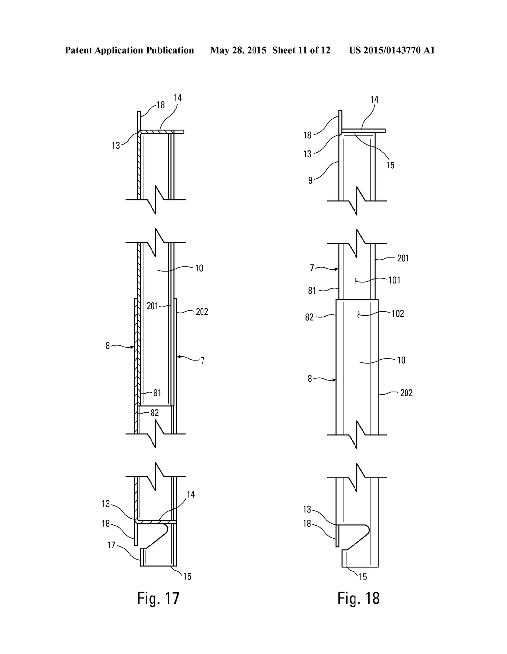 Drywall Backing Connector for Steel Studs - diagram, schematic, and image 12