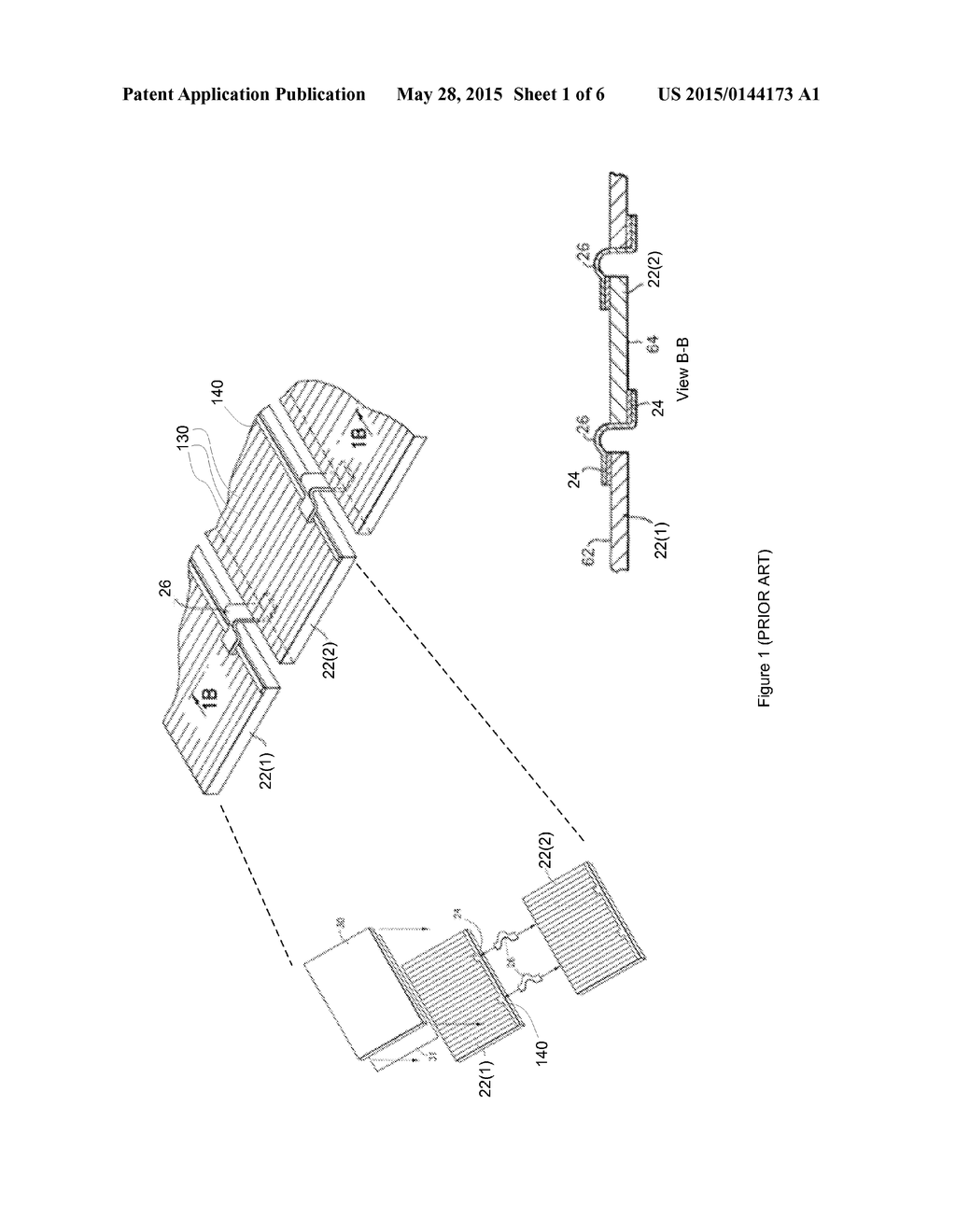 integral corner bypass diode interconnecting configuration for multiple  solar cells - diagram, schematic, and image 02