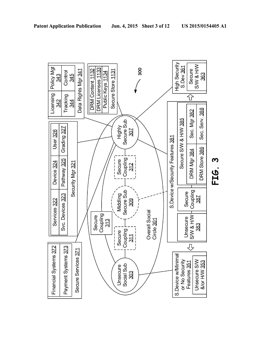 Trust chains in a social network diagram schematic and image 04 ccuart Images