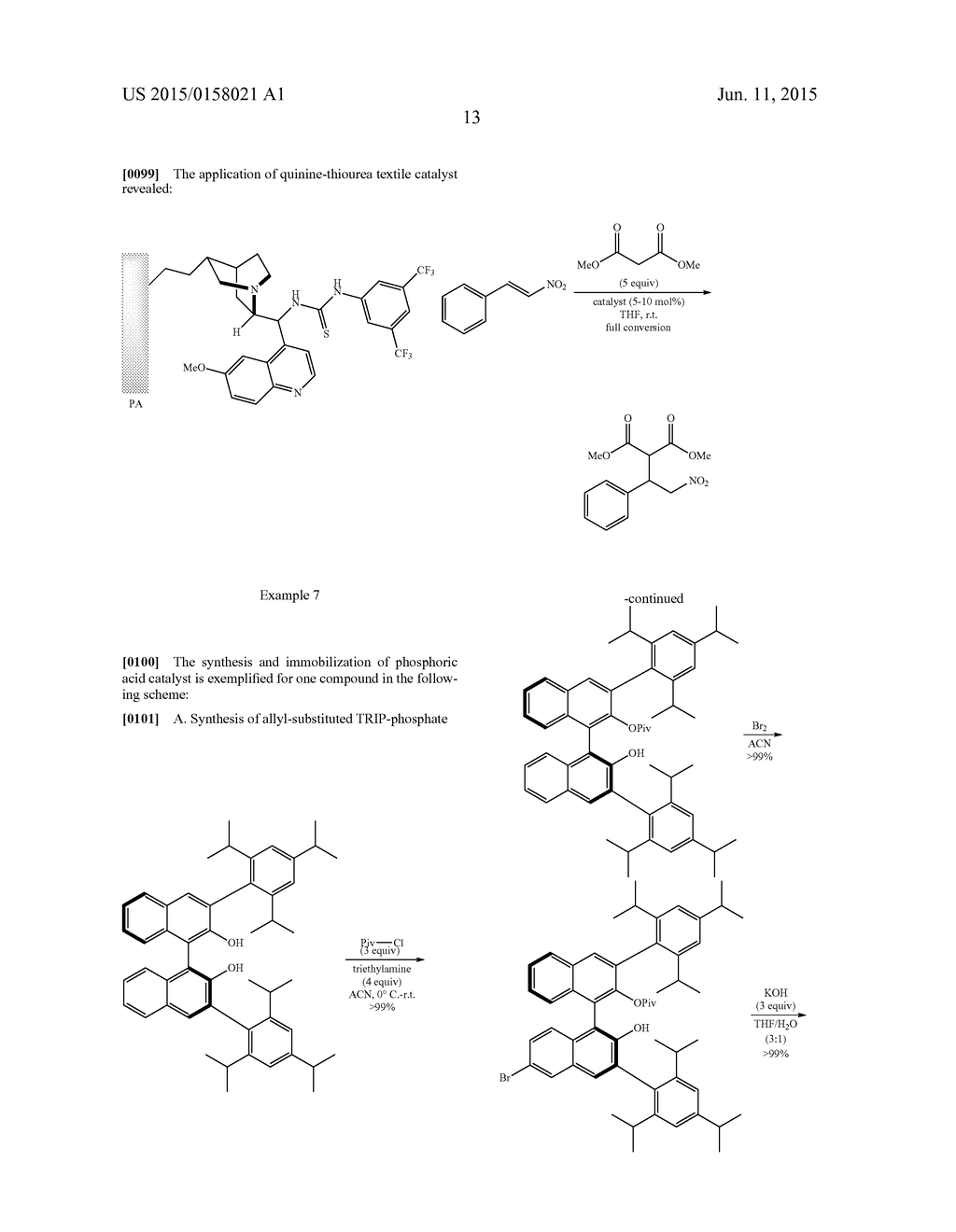 PROCESS FOR THE IMMOBILIZATION OF CATALYSTS ON TEXTILE MATERIALS, THE     OBTAINED TEXTILE MATERIALS AND THE USE OF SAID MATERIALS - diagram, schematic, and image 16