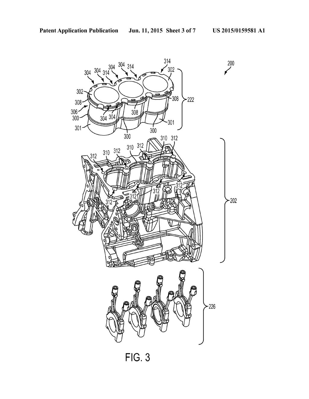 ENGINE HAVING COMPOSITE CYLINDER BLOCK diagram schematic and – Kx80 Engine Diagram