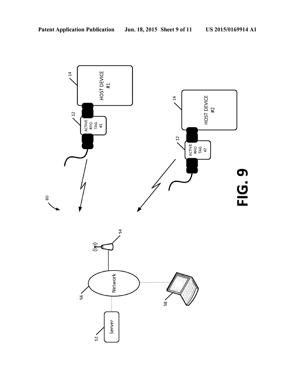 Active Rfid Tag Circuit Diagram Trusted Wiring With Integrated Electrical Pass Through Connection
