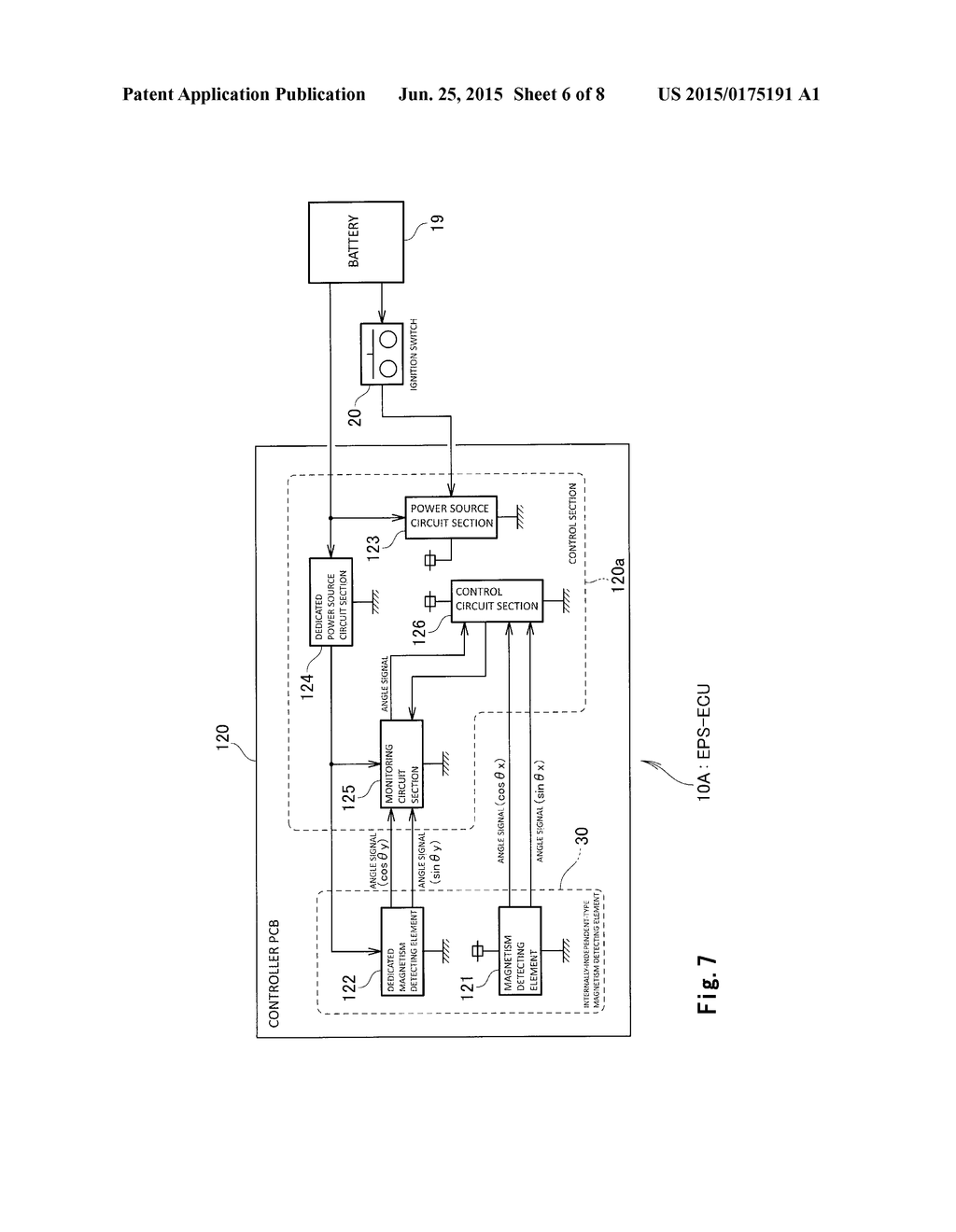Electronic Control Unit For Electric Steering Diagram Schematic And Image 07