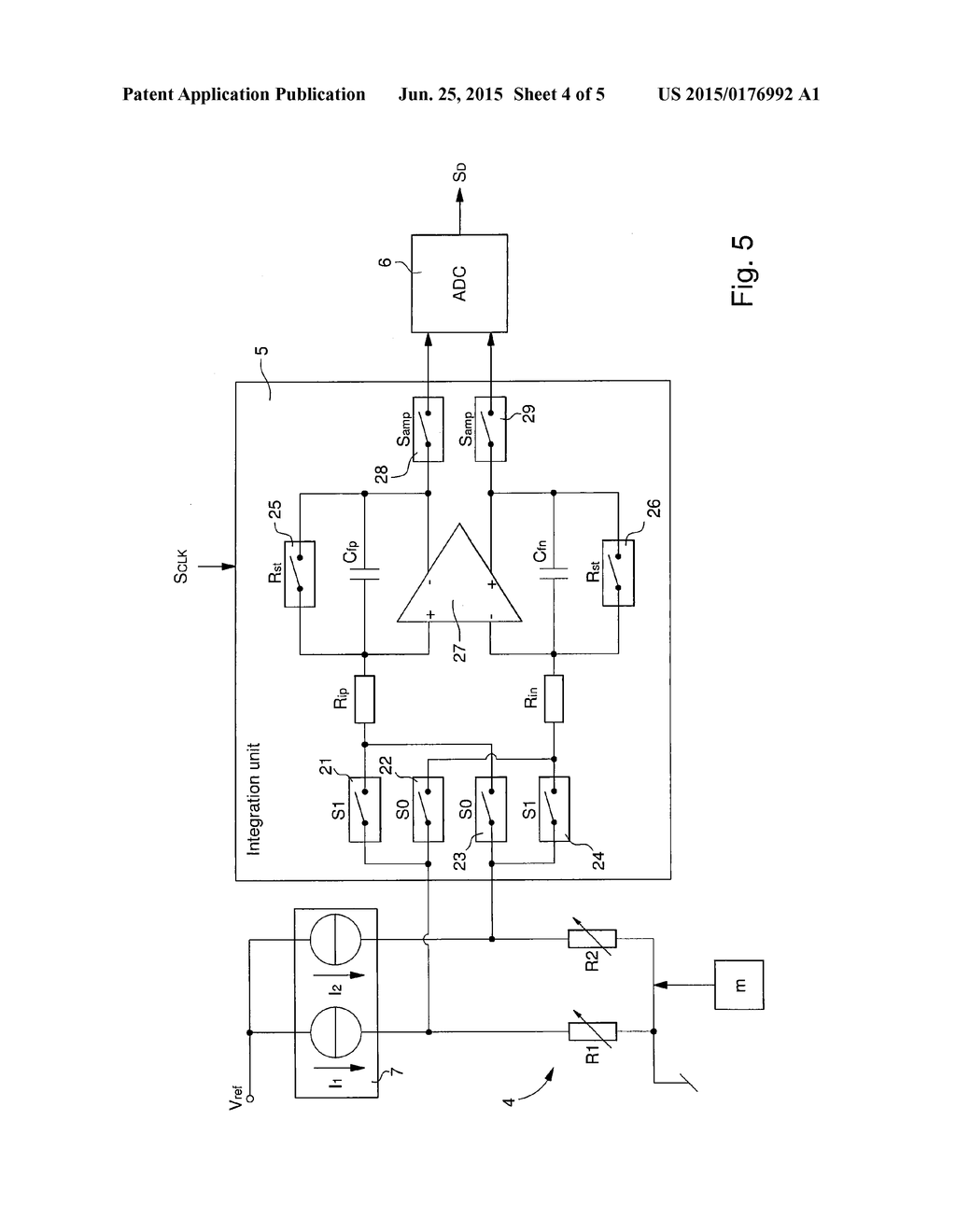 Electronic Circuit For Measuring Rotational Speed In A Mems Diagram Gyroscope And Method Actuating The Schematic Image 05