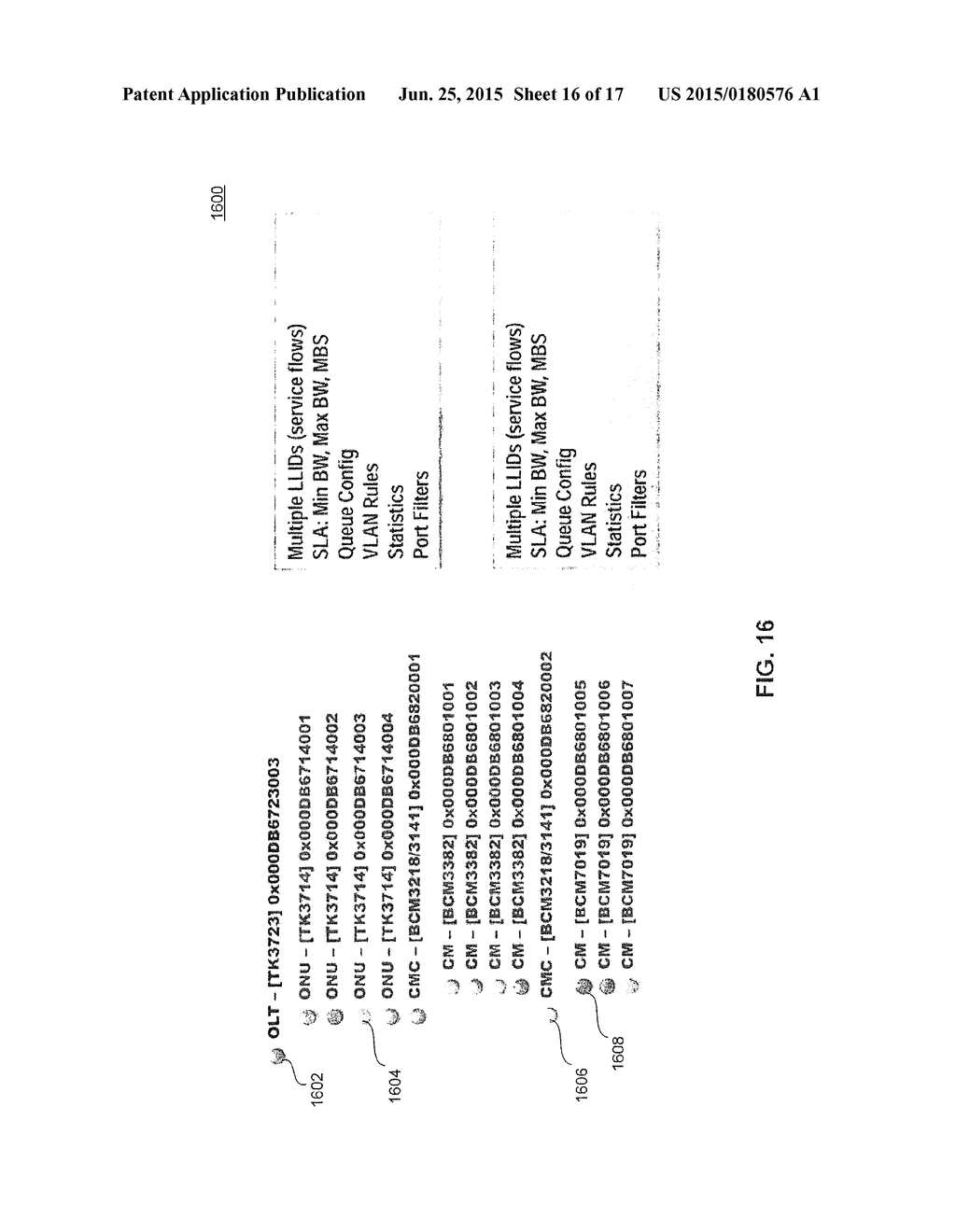 20150180576_17 unified network management of hybrid fiber coaxial (hfc) network