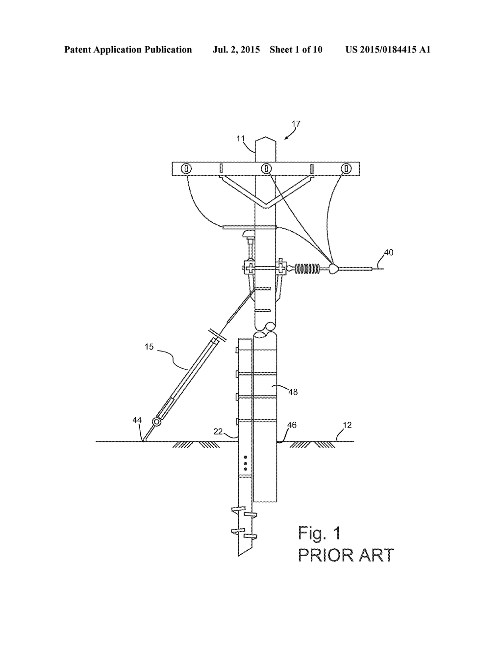 20150184415_02 methods and apparatuses of supporting and bracing a utility pole