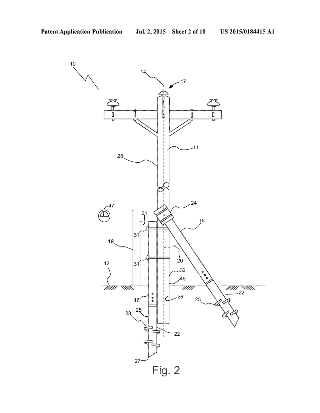 METHODS AND APPARATUSES OF SUPPORTING AND BRACING A UTILITY POLE