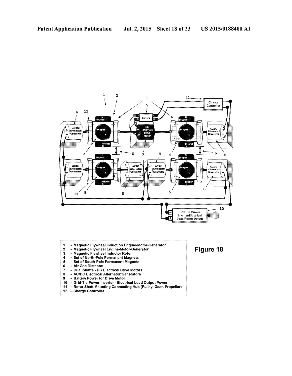 Magnetic Flywheel Induction Engine Motor Generator Diagram Schematic And Image 19