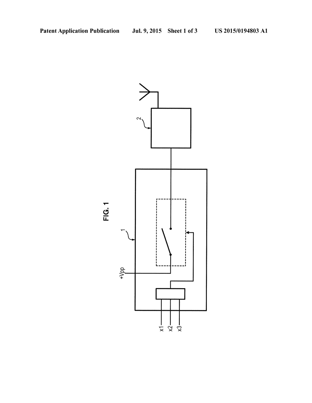 ELECTRICAL CIRCUIT FOR CUTTING OFF AN ELECTRIC POWER SUPPLY ...