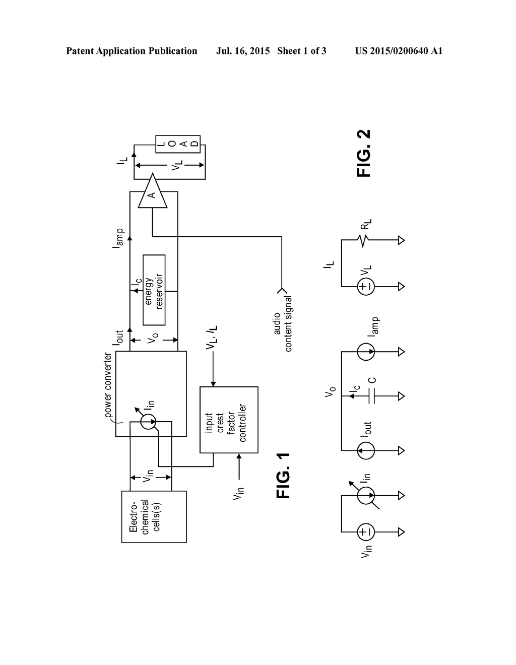 audio power amplification with reduced input power supply crest rh patentsencyclopedia com