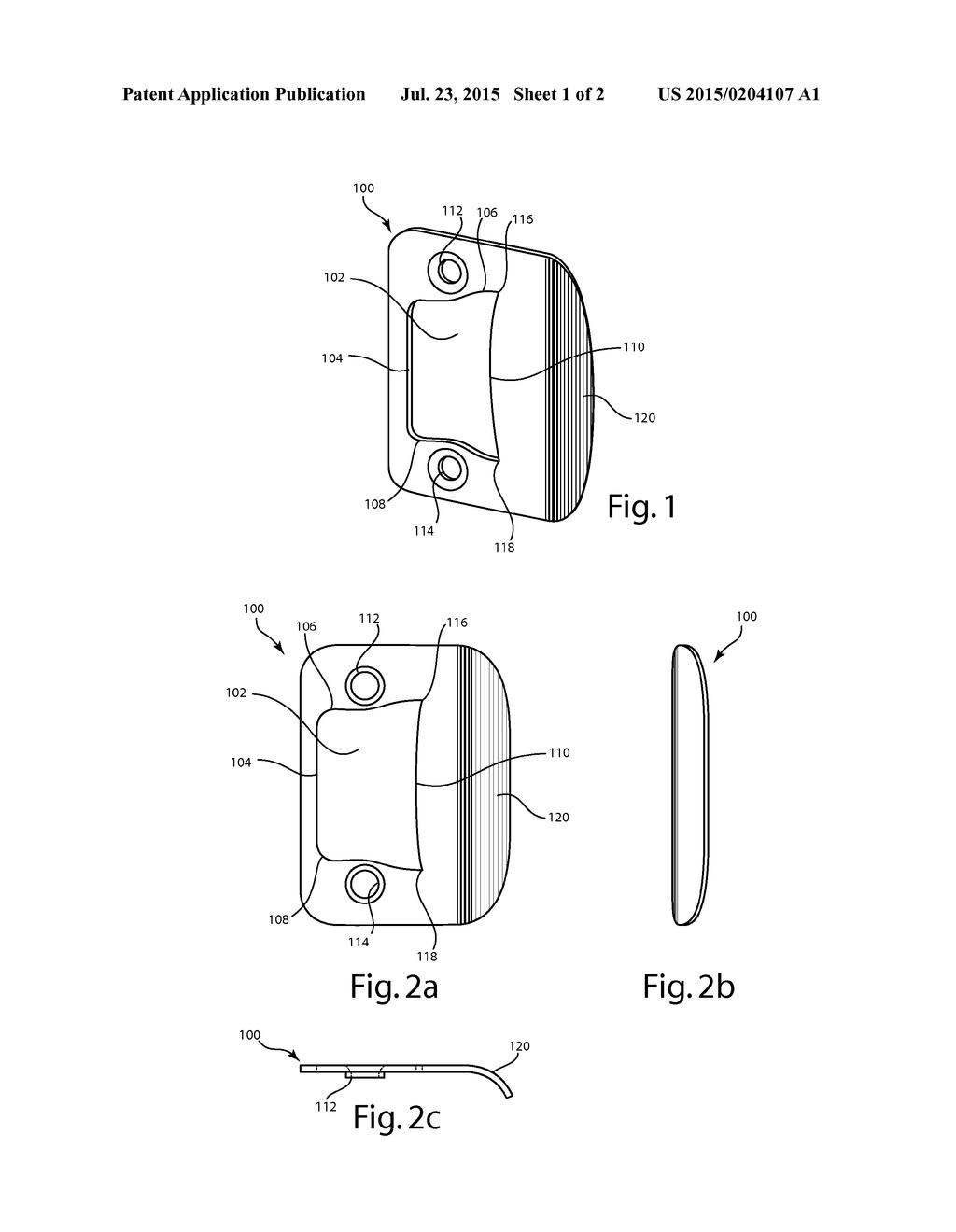 20150204107_02 door strike plate diagram, schematic, and image 02