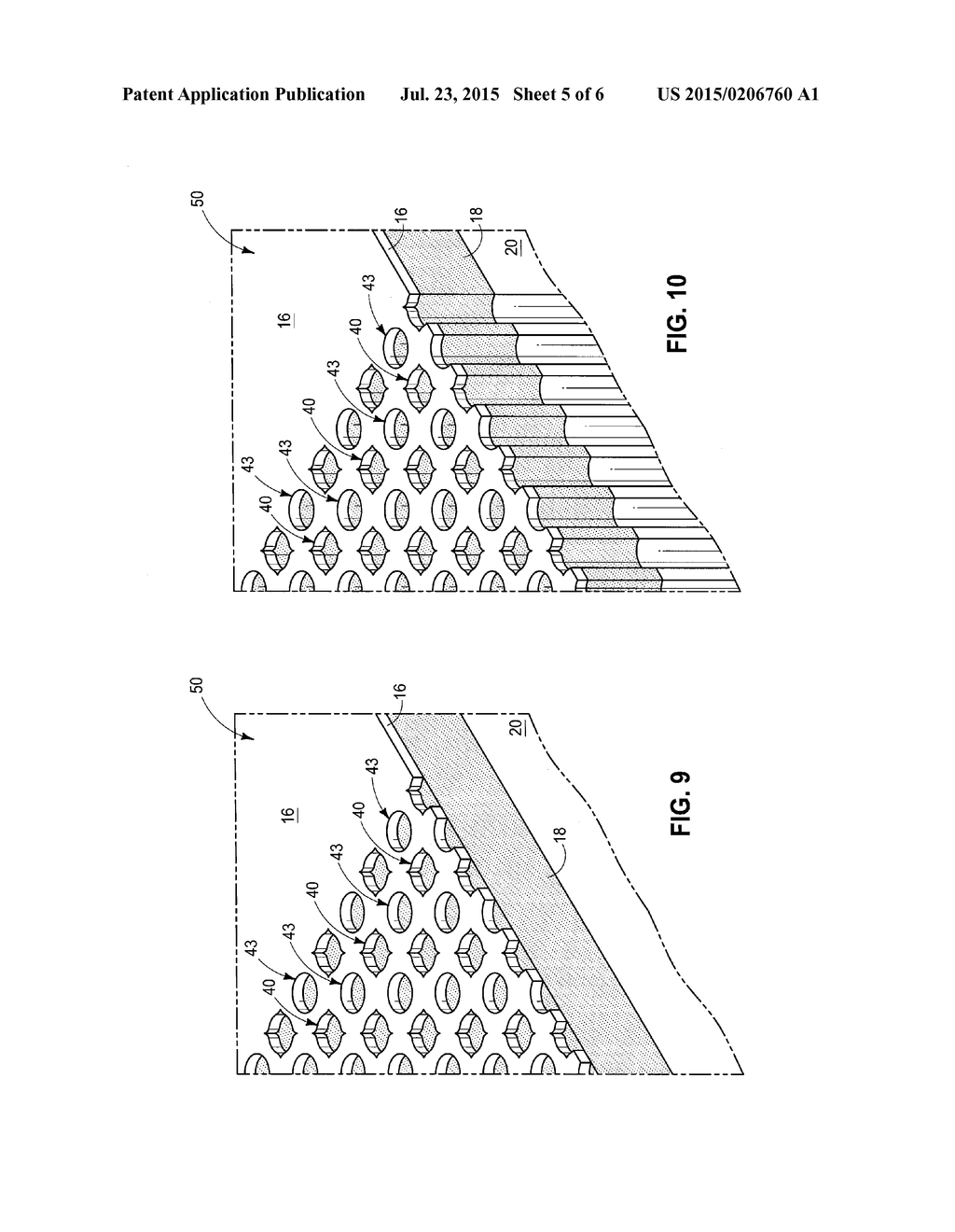 Substrate Mask Patterns, Methods Of Forming A Structure On A Substrate,     Methods Of Forming A Square Lattice Pattern From An Oblique Lattice     Pattern, And Methods Of Forming A Pattern On A Substrate - diagram, schematic, and image 06