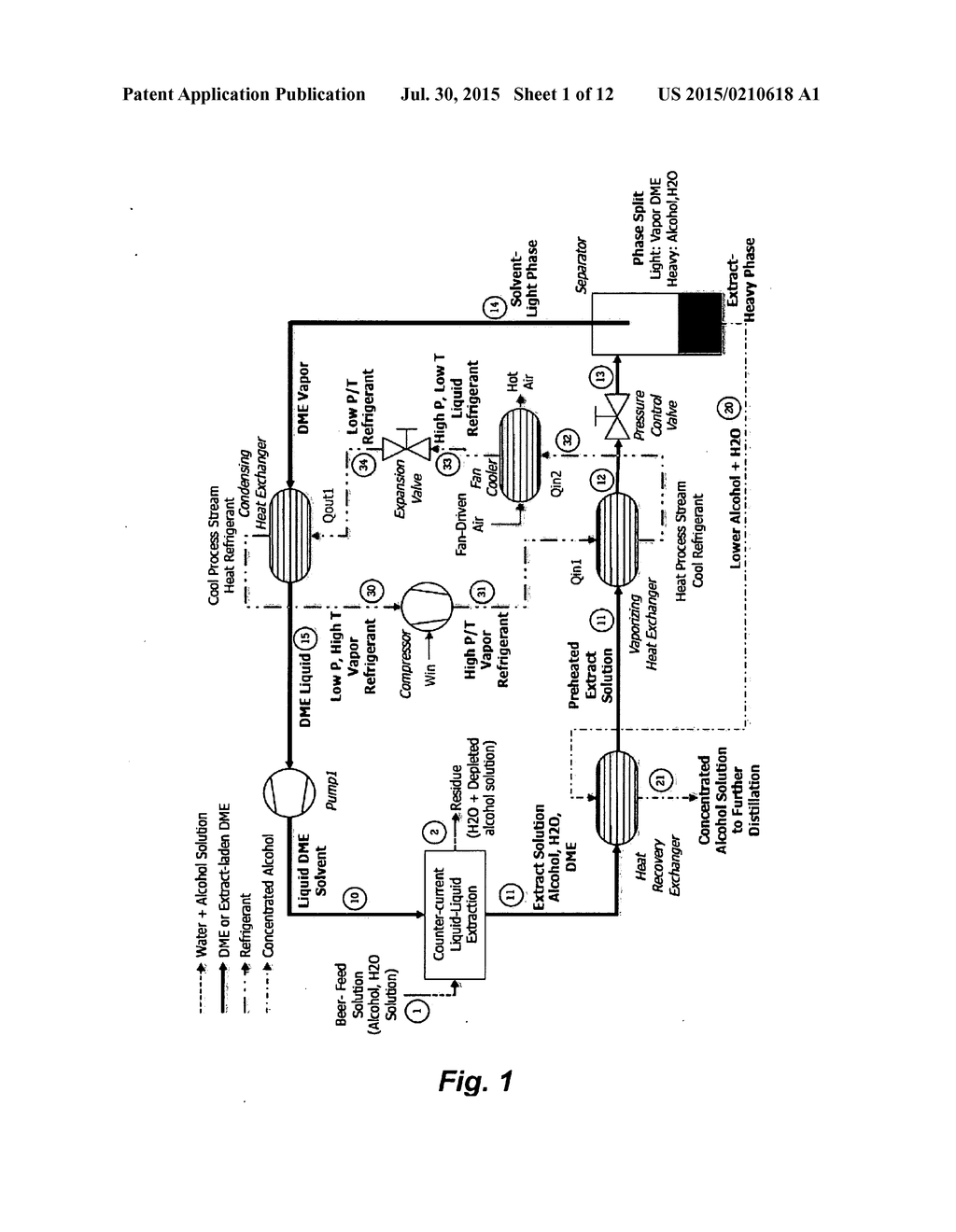 Energy Efficient Method And Apparatus For The Extraction Of Saver Circuit Biomolecules From Dilute Aqueous Solution Diagram Schematic Image 02