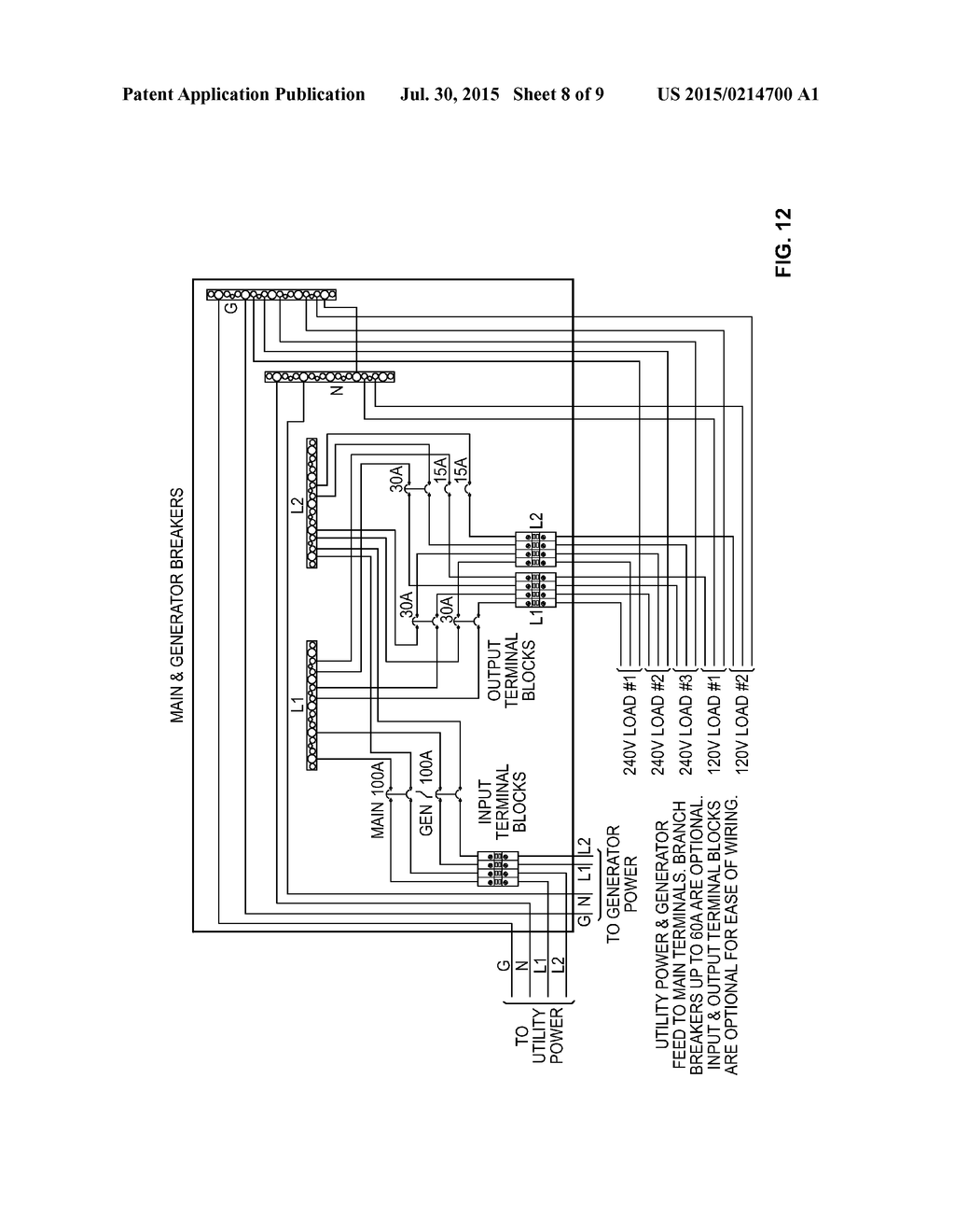Ac Circuit Breaker Panels And Telecommunications Equipment Cabinets Figure 1 A 240v Panel Having Diagram Schematic Image 09