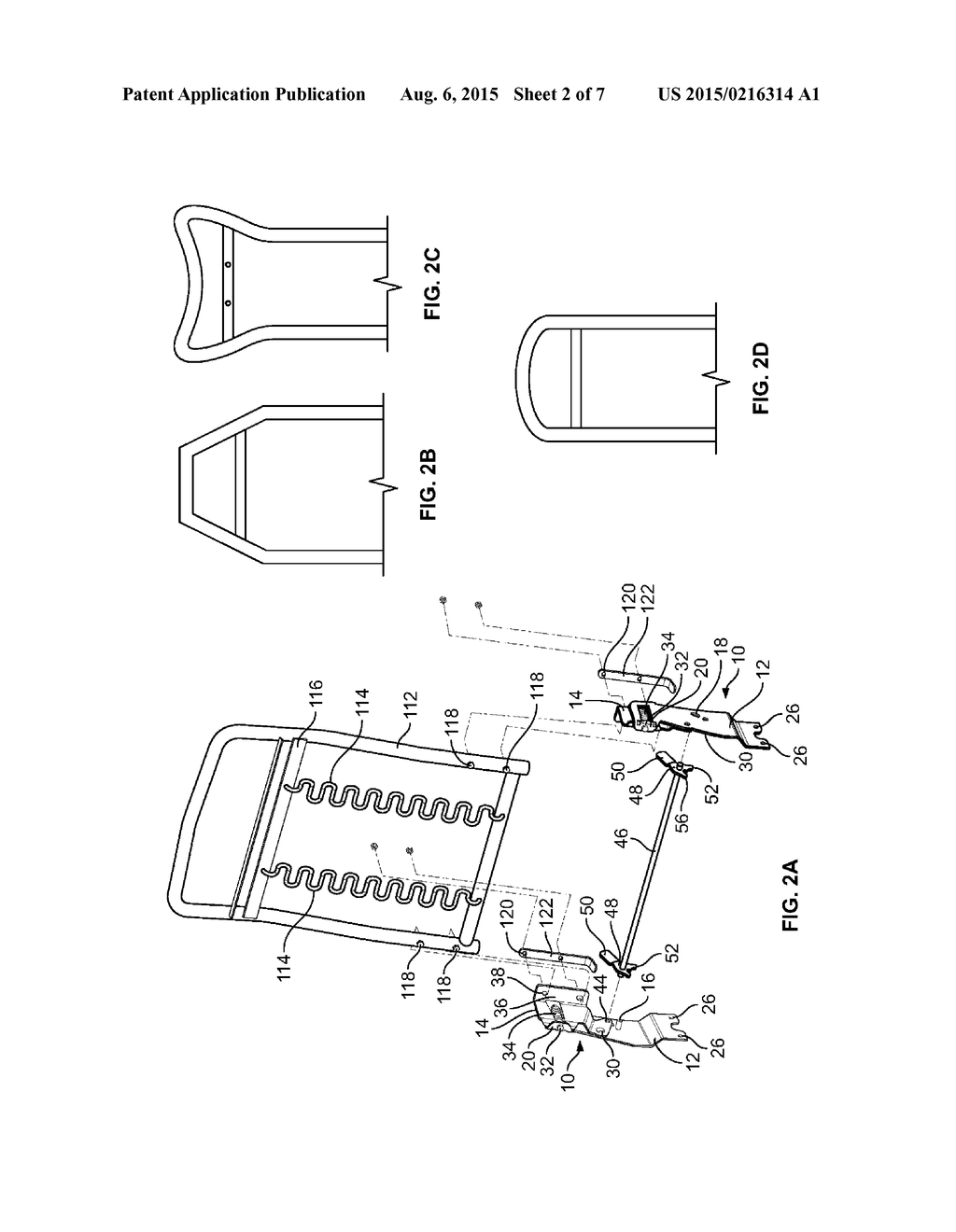SPRING BACK HINGE WITH OR WITHOUT SPRING LOCK MECHANISM - diagram, schematic,  and image 03