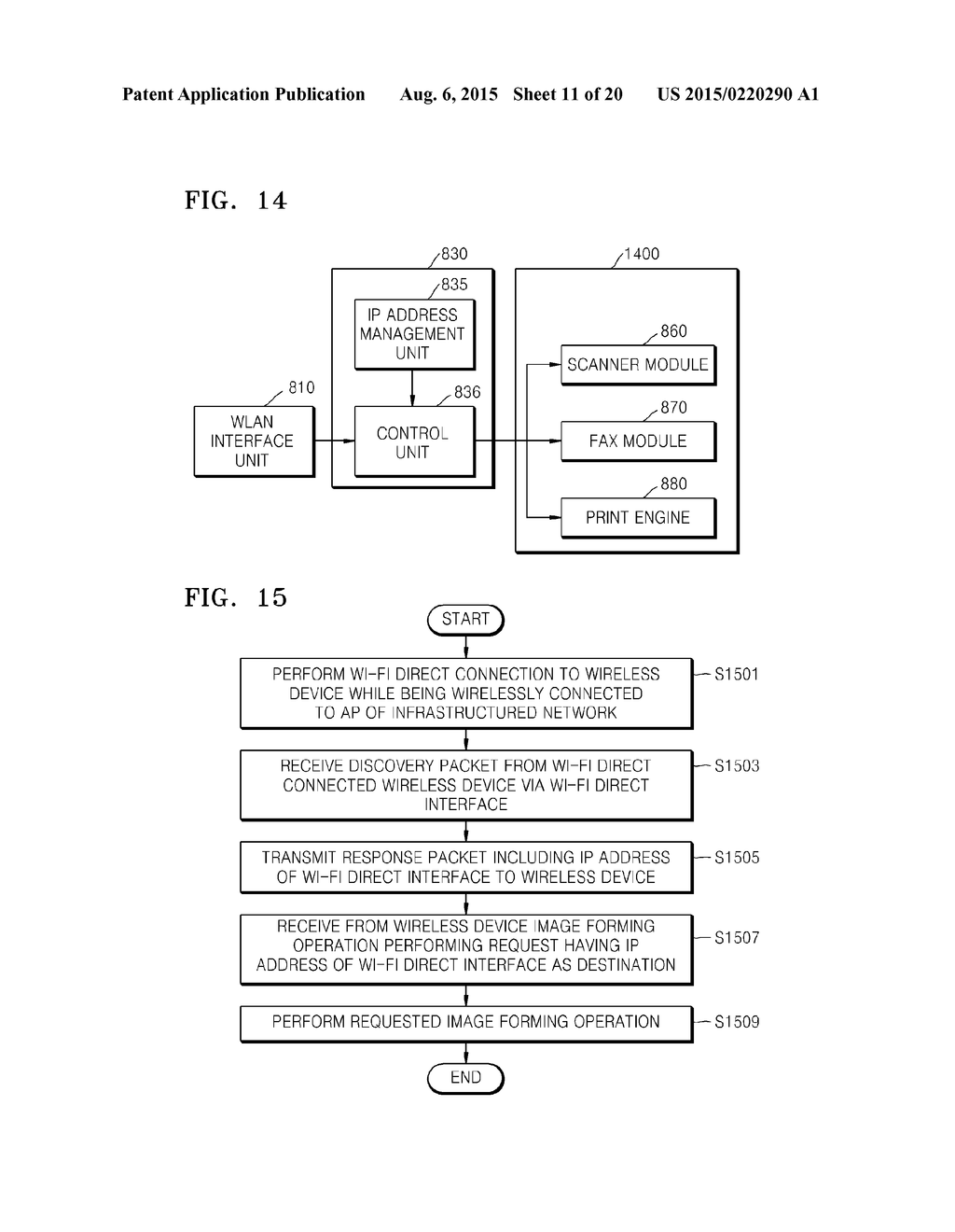 IMAGE FORMING APPARATUS SUPPORTING WI-FI DIRECT AND METHOD OF ACTIVATING     WI-FI DIRECT - diagram, schematic, and image 12