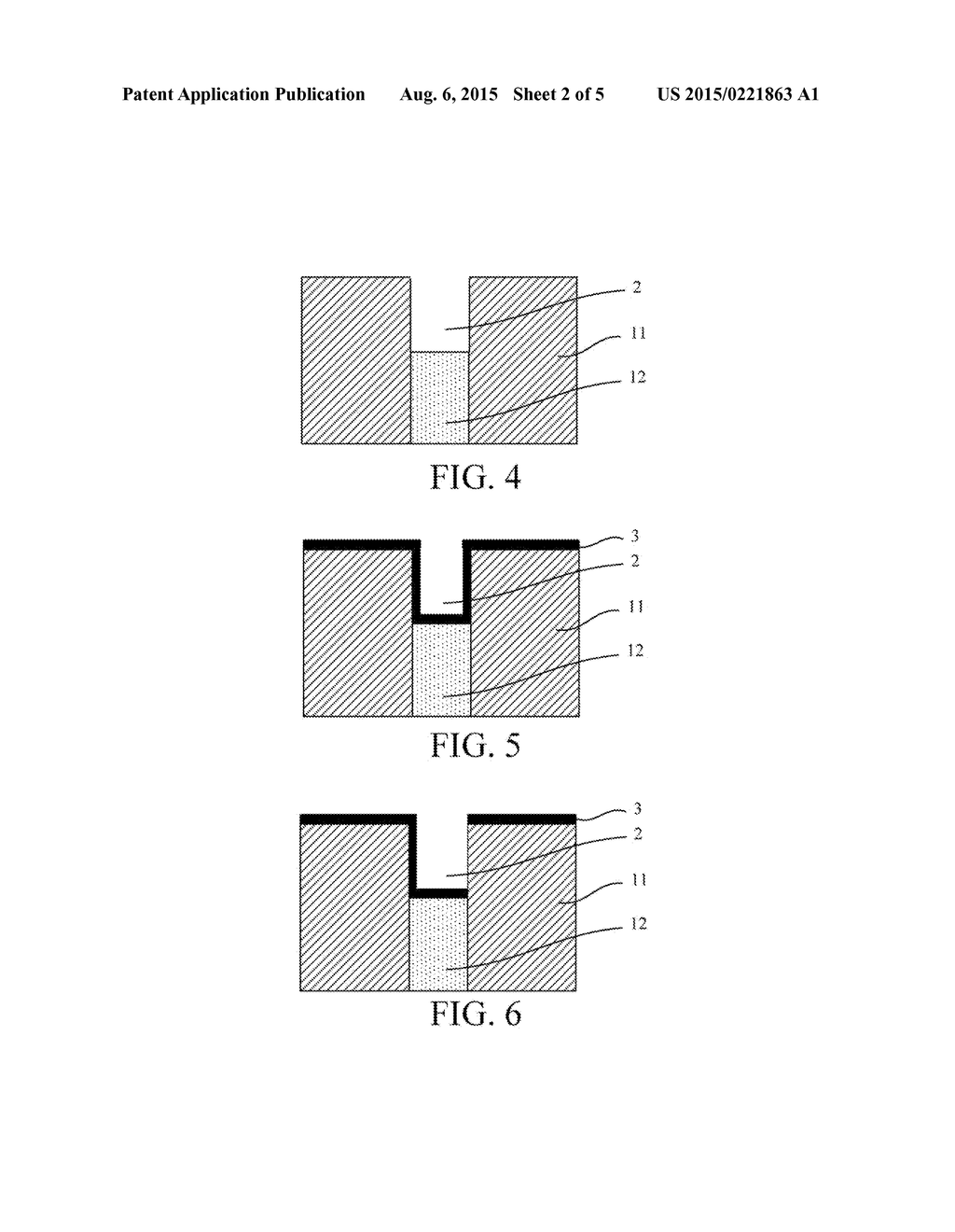 Phase-Change Storage Unit Containing TiSiN Material Layer and Method for     Preparing the Same - diagram, schematic, and image 03