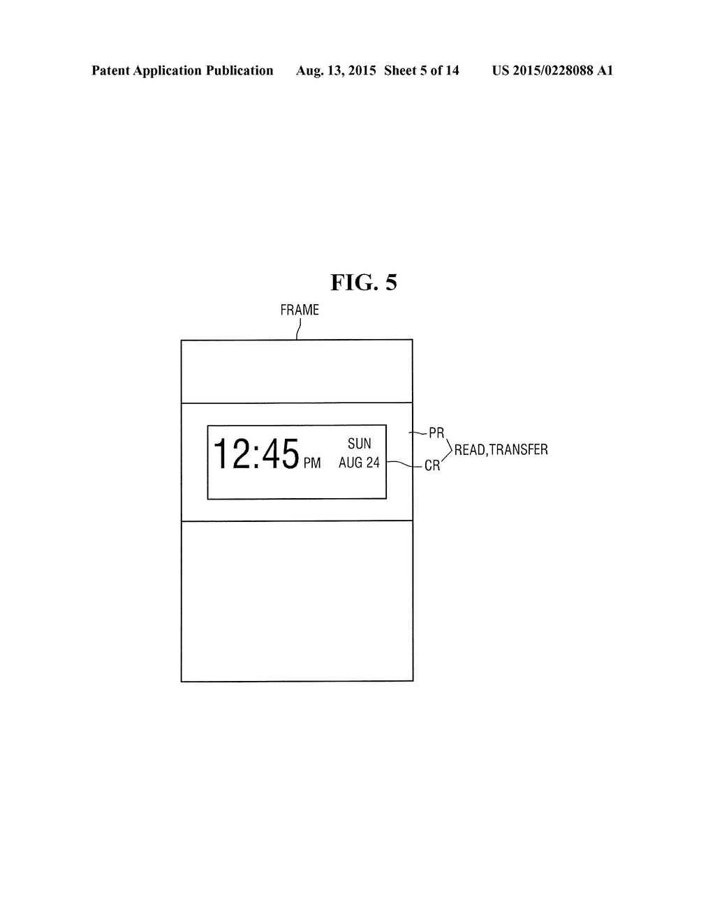 DISPLAY DEVICE AND METHOD FOR IMAGE UPDATE OF THE SAME - diagram, schematic, and image 06
