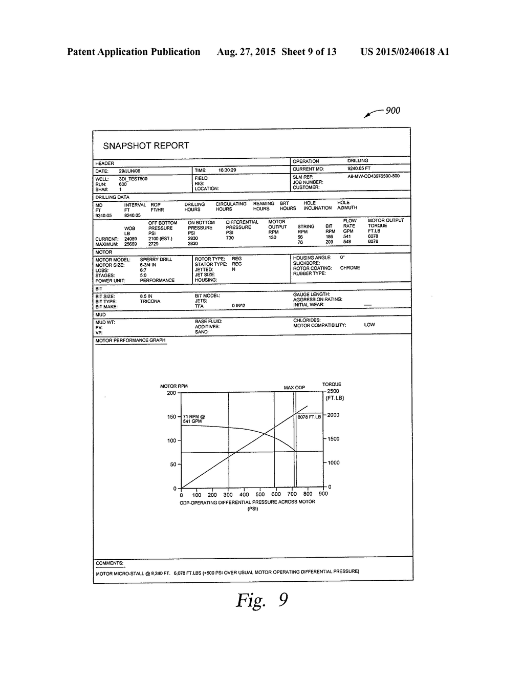 20150240618_10 monitor and control of directional drilling operations and
