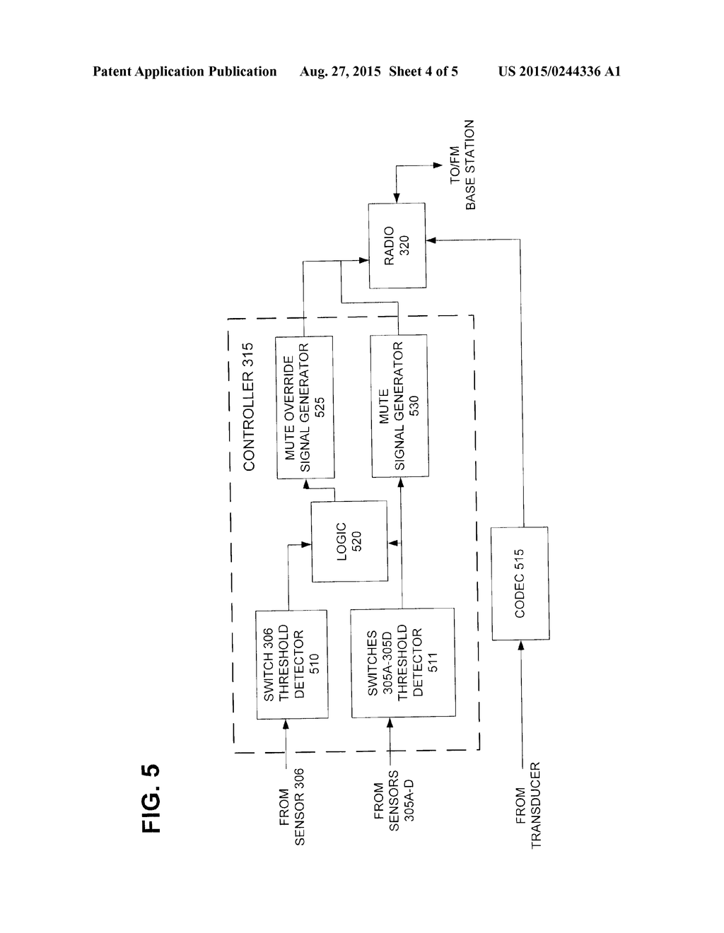 Wireless Microphone Diagram Wiring Library Classroom System Circuit Mute Control Override Schematic And Image 05